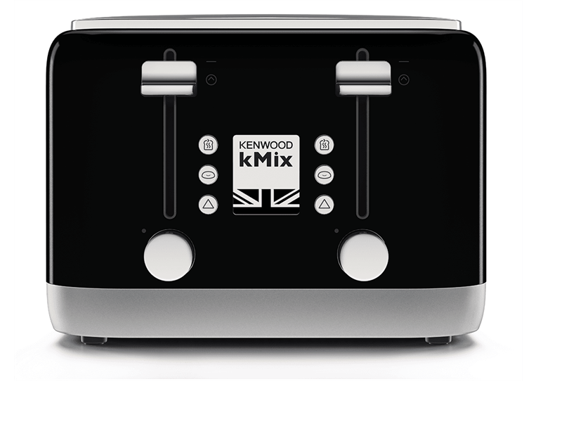 kMix 4 Slice Toaster - Rich Black - TFX750BK