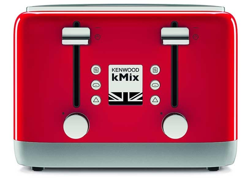 kMix 4 Slice Toaster - Spicy Red - TFX750RD