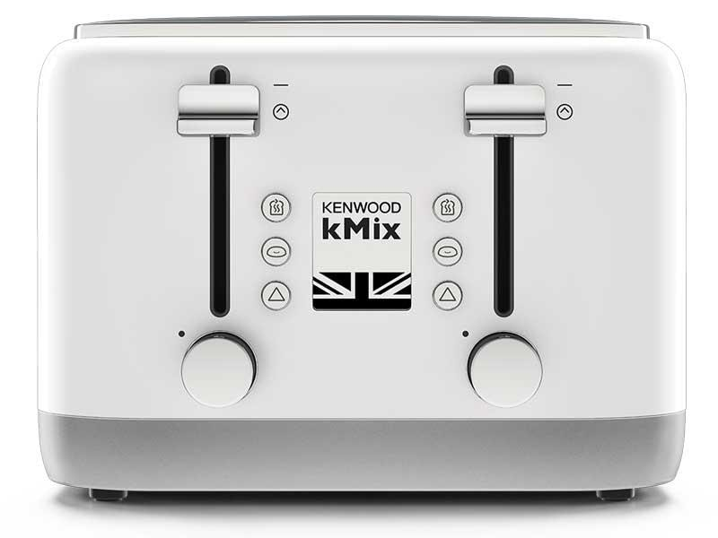 kMix 4 Slice Toaster - Cool White - TFX750WH