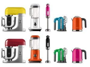 The kMix bright colours range