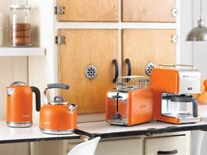 kMix Orange Traditional Kettle - SKM077