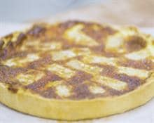 Comte Cheese and Chard Tart