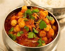 Simple Slow Cooked Chana Masala