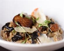 Mushroom Risotto by The Woodspeen