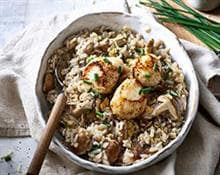 Scallops Risotto - Kenwood Cookeasy+ recipe