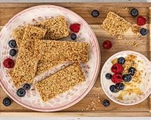 Four Ingredient Breakfast Bars