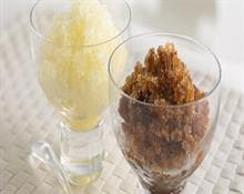Coffee and Lemon Granita