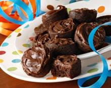 Chocolade fudge mini cakes