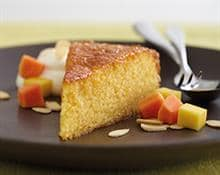 Mango and Semolina Cake