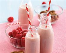 Raspberry & Almond Drink