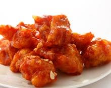 Hot Sweet and Sour Chicken Balls
