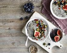 Berry Chia Seed Porridge