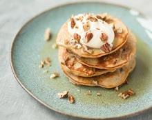 Cinnamon and Banana Pancakes