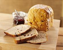 Fruit and Nut Bran Loaf