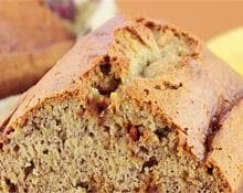 Layered Ginger and Banana Loaf