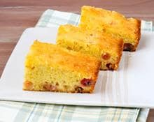 Orange Drizzle Cake with Summer Fruits