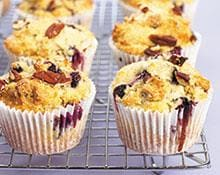 Blueberry and Pecan Muffins
