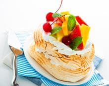 Pavlova with Exotic Fruits kMix Kitchen Machine recipe by Kenwood NZ