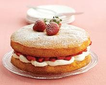 Strawberries and Cream Sponge recipe by Kenwood New Zealand