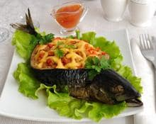 Mackerel with a Tomato and Chilli Stuffing recipe by Kenwood New Zealand