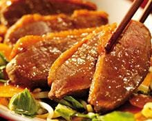 Stir Fried Duck Breast with an Oriental Plum Sauce Recipe