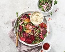 Beetroot Sliced Salad