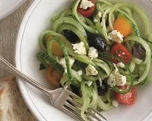 Greek Spiral Salad