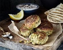Falafel with Tahini Sauce