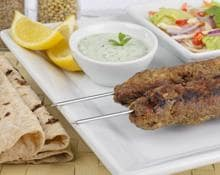 Lamb Koftas with Minted Yogurt