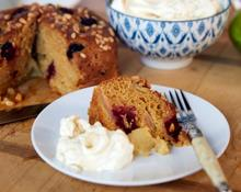 Apple And Blackberry Cake - OzHarvest #HereforHope