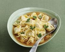 Tortellini in Chicken Broth