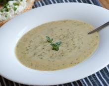 Celeriac and Stilton Soup