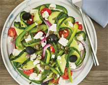 Greek Spiral Salad listing