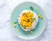 Mango and Passion Fruit Meringue