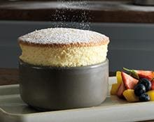 Passion fruit soufflés