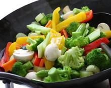 Broccoli and Red Pepper Stir Fry