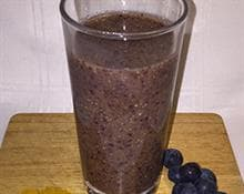 Berry Cleansing Turmeric Smoothie Blogger Recipe